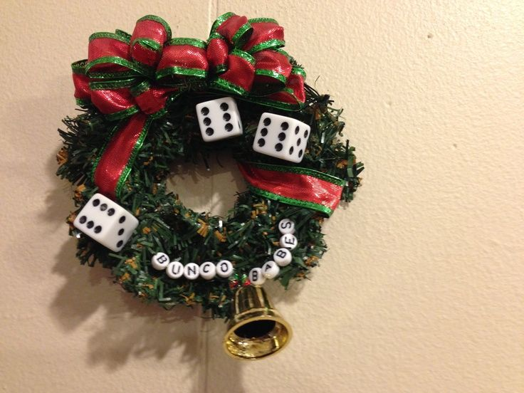 Christmas Bunco Party Ideas Part - 40: Christmas Bunco Ornament!