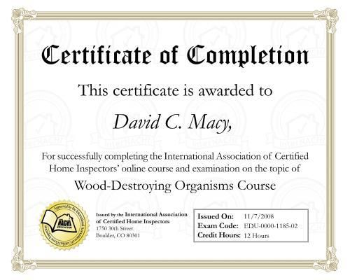 Certificate Of Completion Template   Certificate Design