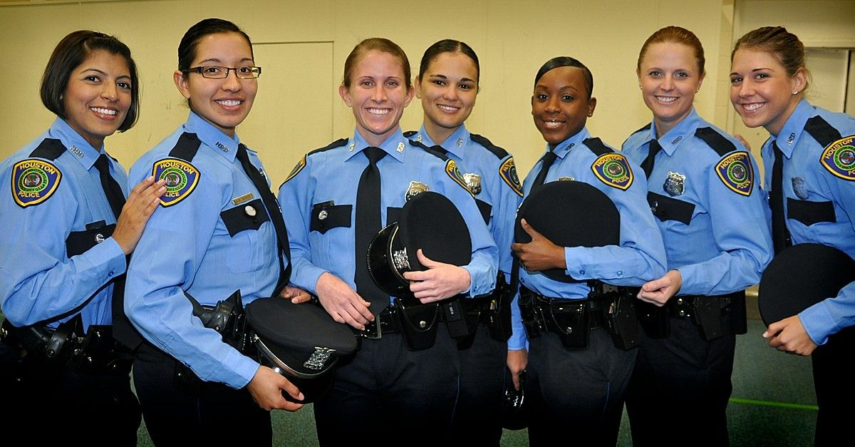 Female police officers from Houston Texas ! LEO Pinterest