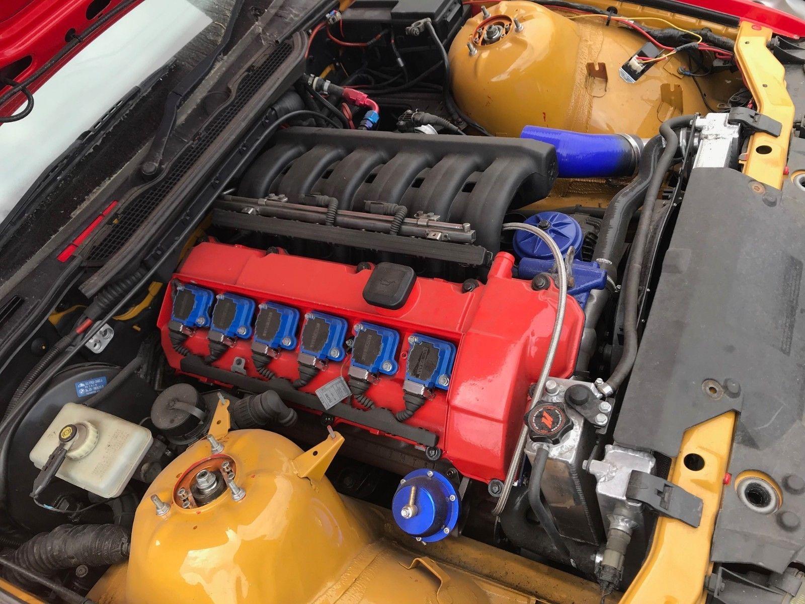 Ebay Bmw E36 Compact 328 Turbo Project M52 2 8 Track Drift Car