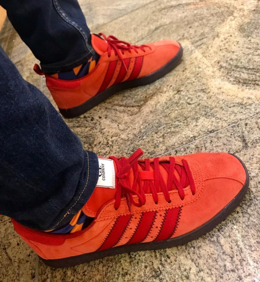 new concept 83ccb 2a29f Adidas - CP Company Tobacco on feet on the street | Adidas