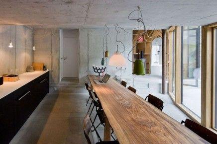 Smalle eettafels | Lange eettafels, Ondergrondse huizen