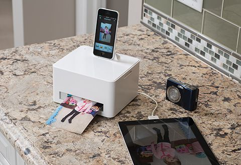 Can I have this please? Smartphone Photo Cube Printer @ Sharper Image