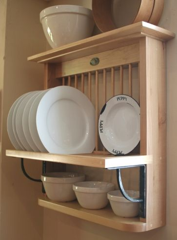 simple plate rack House Pinterest Plate racks, Kitchen and Plates