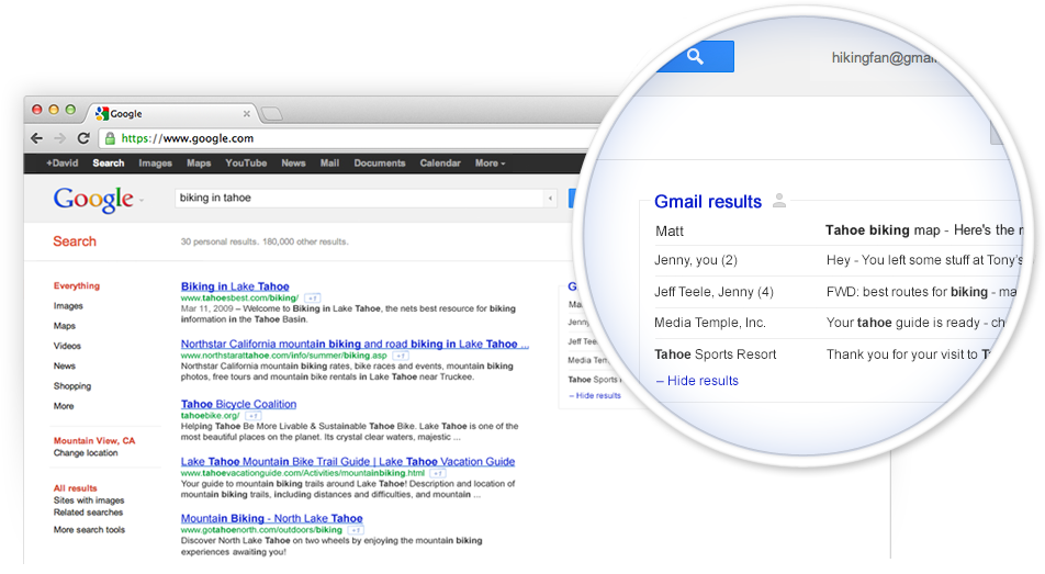 Google Incorporating Gmail Into Search Results Your Email Marketing Just Became Top Priority With Images Google Search Results Seo Services Social Media