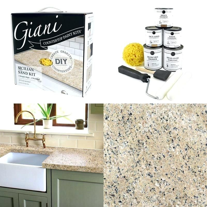 Giani Countertop Paint Kit Details About Paint Kit Sand Giani