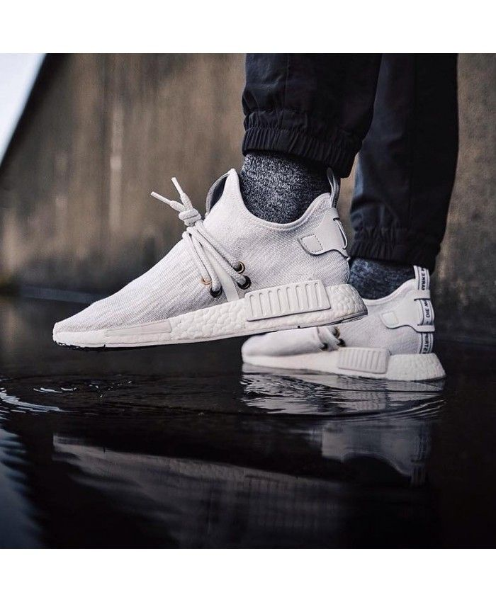 6235d3b93fe61 Adidas NMD XR1 Uncaged Grey White Trainers