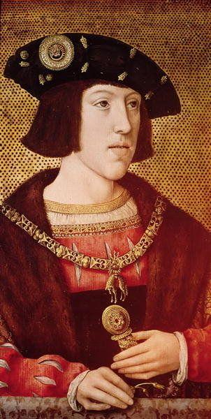 Portrait Of Charles V Sacro Imperio Romano Germanico Francisco I De Francia Carlos I