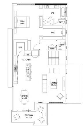 Double story house plans upside down designs reverse living seabreeze mojo homes also rh pinterest