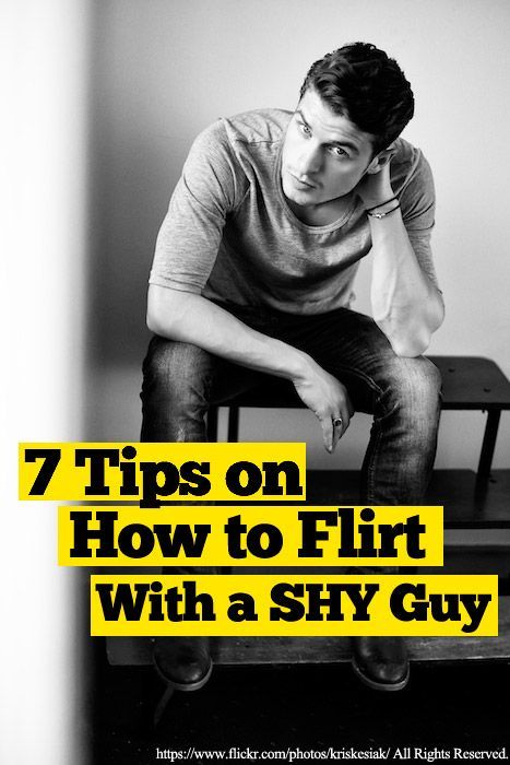Helpful dating advice for shy guys