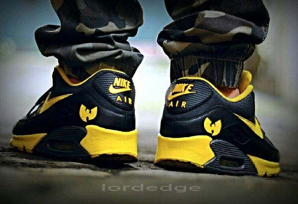 newest 5d992 1c2a3 Nike Air Max 90 Wu Tang 36 Chambers - Lordedge