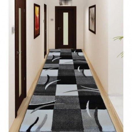 diamond tapis de couloir 80x300 cm gris noir et blanc comptoir 130 best dco