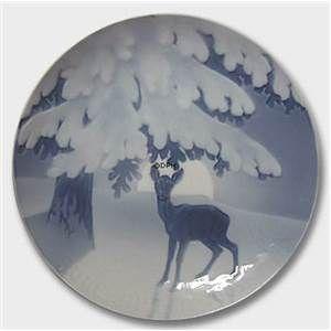 Julenat 1905, Bing & Grøndahl Juleplatte | Platter
