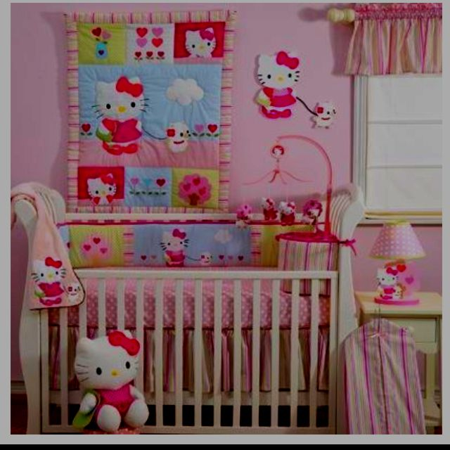 This Will Be My Baby Girl Bedding Love Hello Kitty Hello Kitty