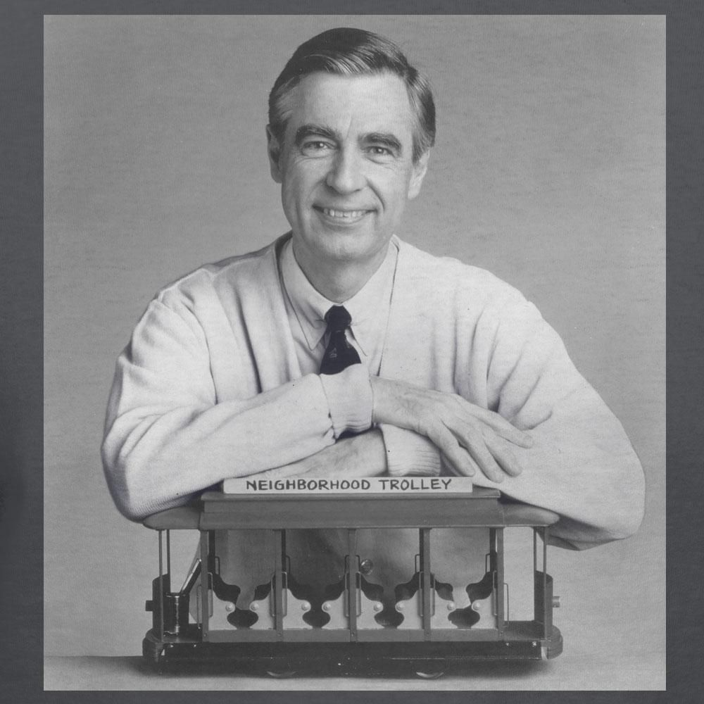 Mister Rogers Neighborhood With Trolley T Shirt Quotations Inspirational Quotes Fred Rogers
