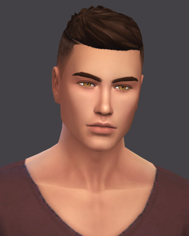Lana CC Finds — golyhawhaw: First male skin overlay for