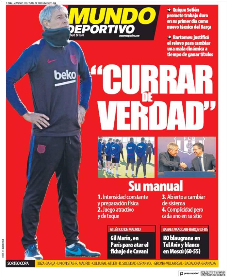 20200115 Periódico El Mundo Deportivo (España