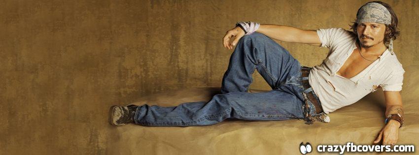 Johnny Depp Facebook Cover - Facebook Timeline Cover Photo