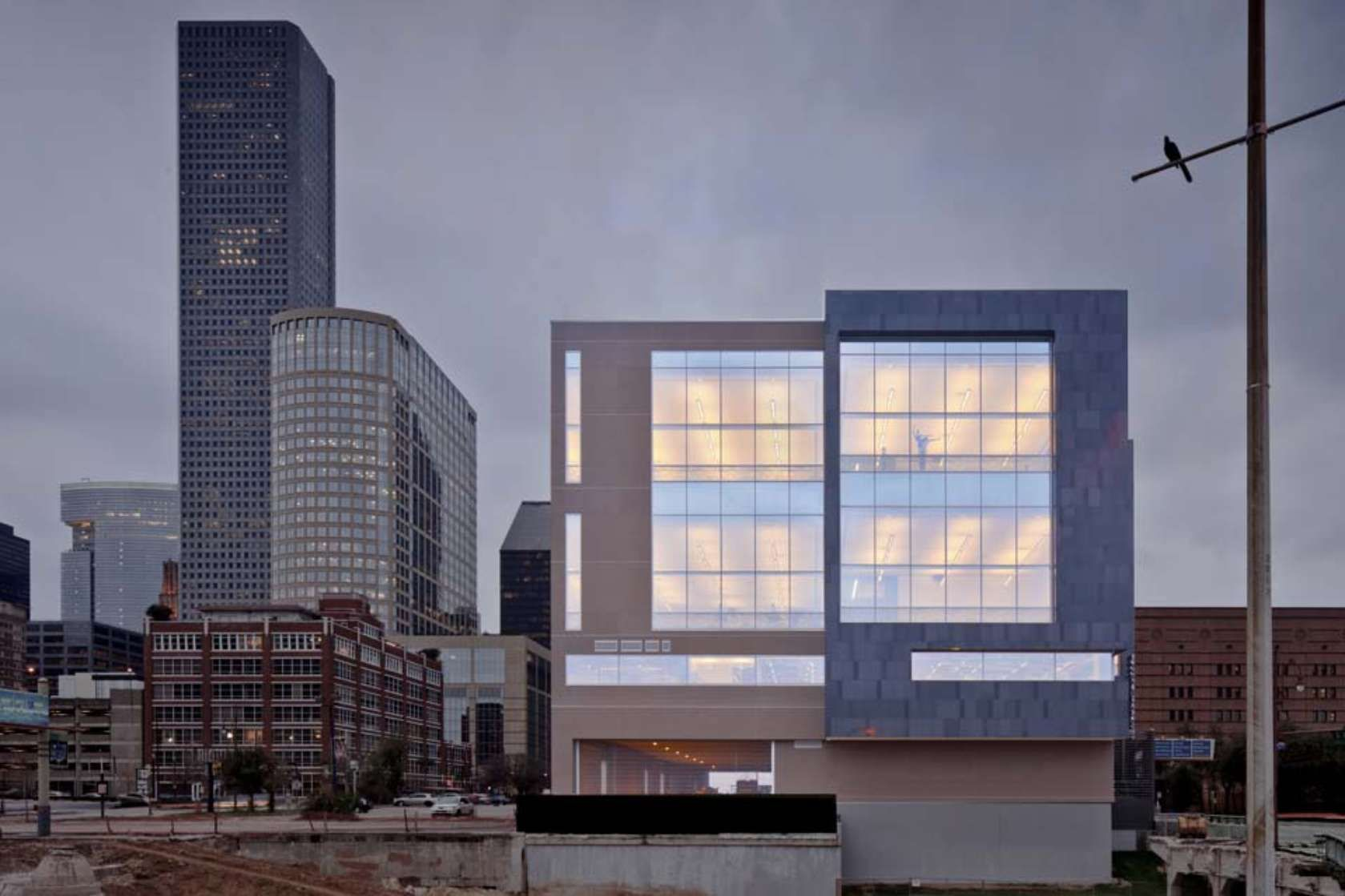 Houston ballet center for dance is the largest