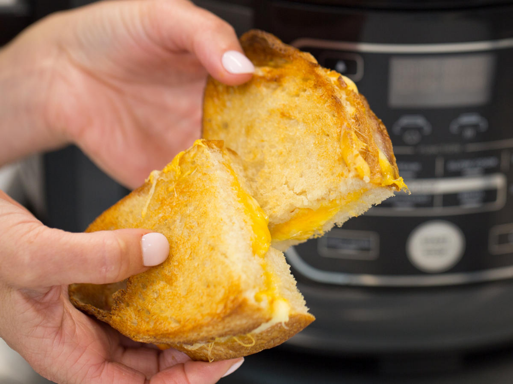 AirFried Grilled Cheese Recipe Air fryer recipes, Air
