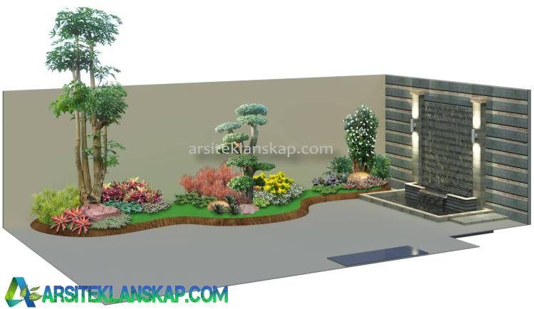 Sketsa Desain Taman 3d Desain