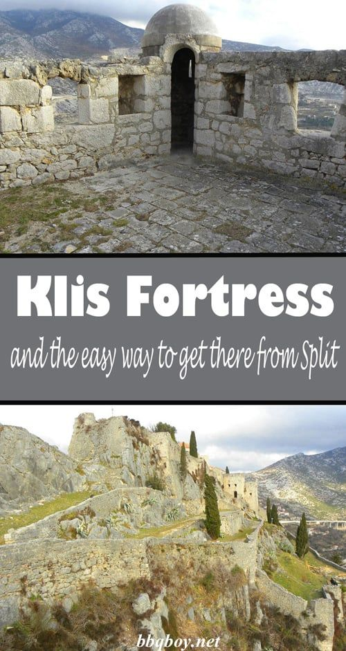 Why you should visit Klis Fortress. And the easy way to get there from Split #bbqboy #Klis #Split #Croatia #travel