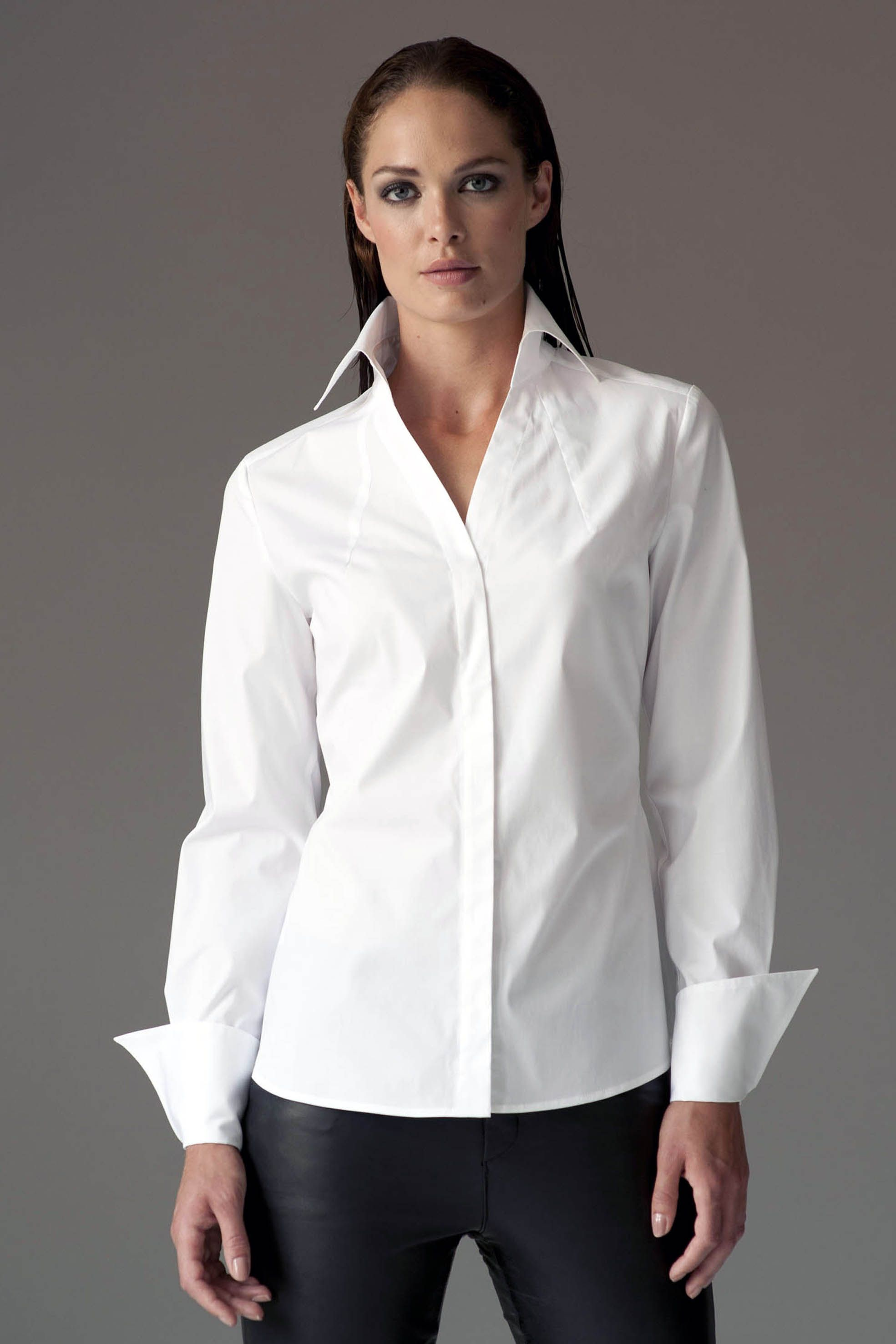 White shirt | Big Collars | Pinterest | White shirts and Classic white