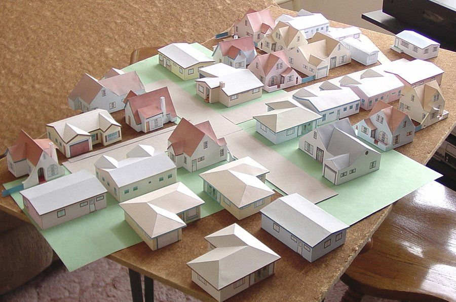 Paper House Models To Download Print And Build By