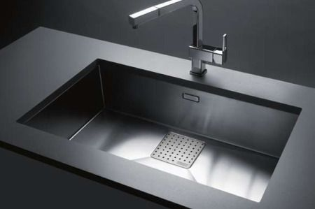 franke peak pkx11028 28 16 gauge stainless steel single bowl sinks franke pkx. Interior Design Ideas. Home Design Ideas