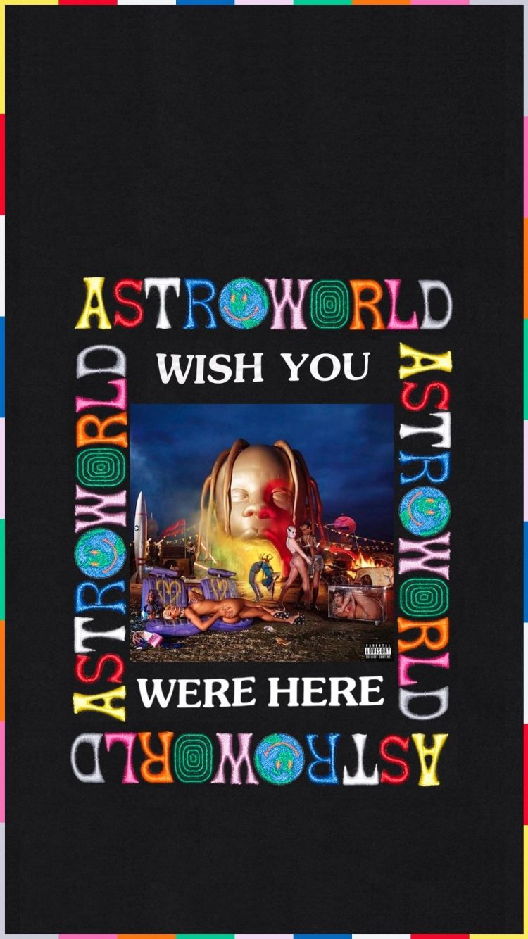 Astroworld Wallpaper in 2020 Travis scott iphone