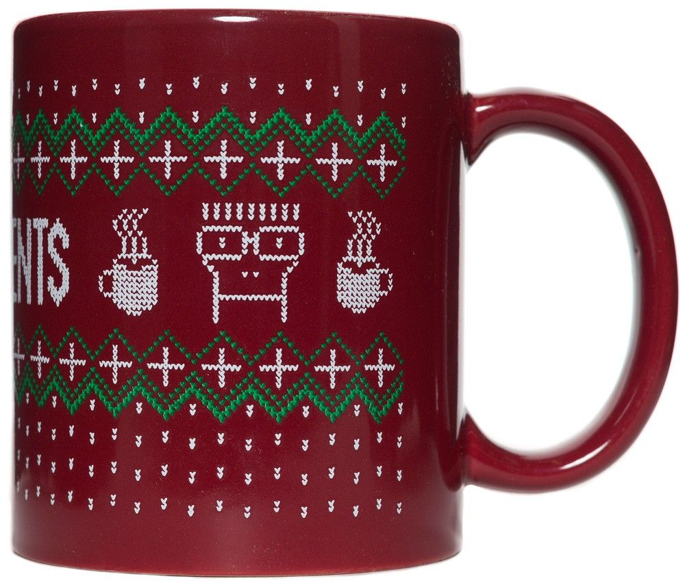 descendents holiday coffee mug based on the 2013 descendents christmas sweater there is now a one size fits all coffee mug fill it with your favorite - Descendents Christmas Sweater