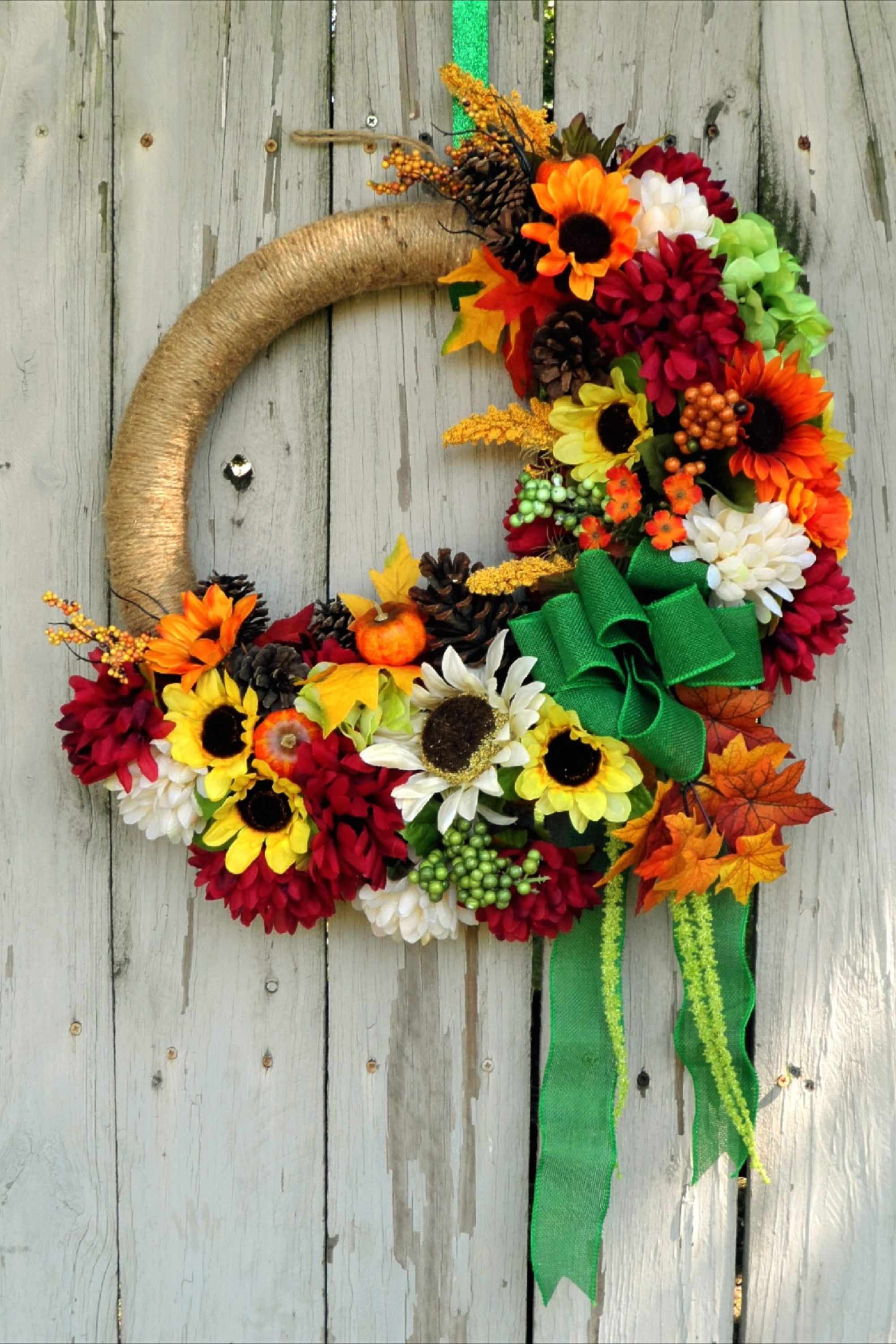 Large Fall Floral Wreath For Front Door Farmhouse Wreath Etsy Large Wreath Wreaths For Sale Fall Floral