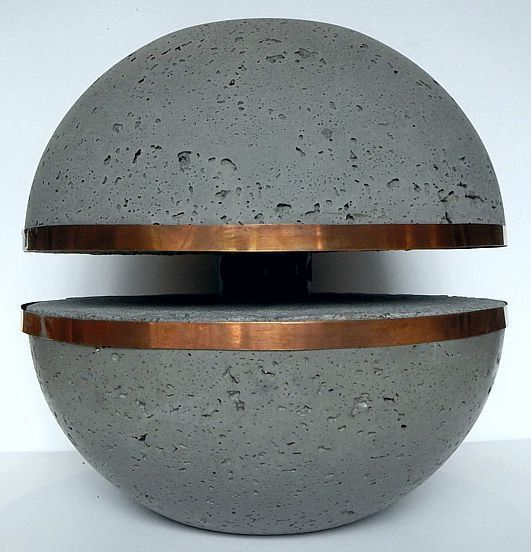 Light concrete spherical Galactica by Btons on Etsy