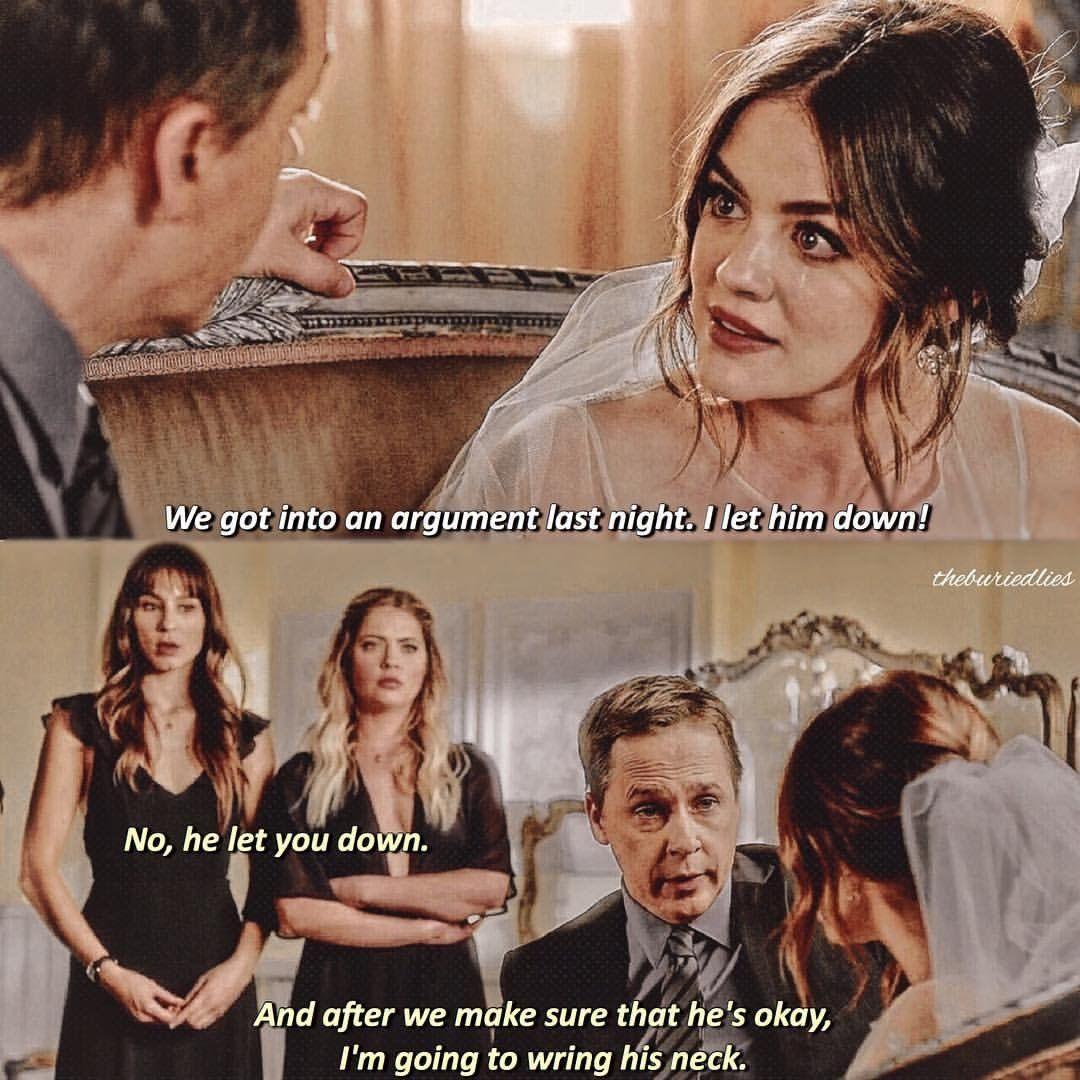 Arias wedding day | Pretty Little Liars in 2019 | Pretty little