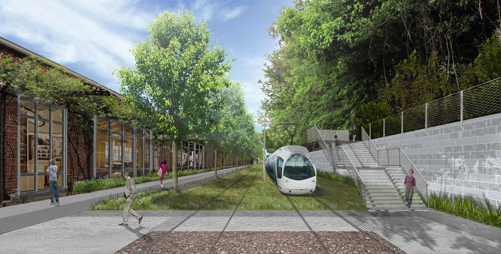 #Beltline: 22 planned miles of contiguous light rail, greenspace, affordable housing and public art.