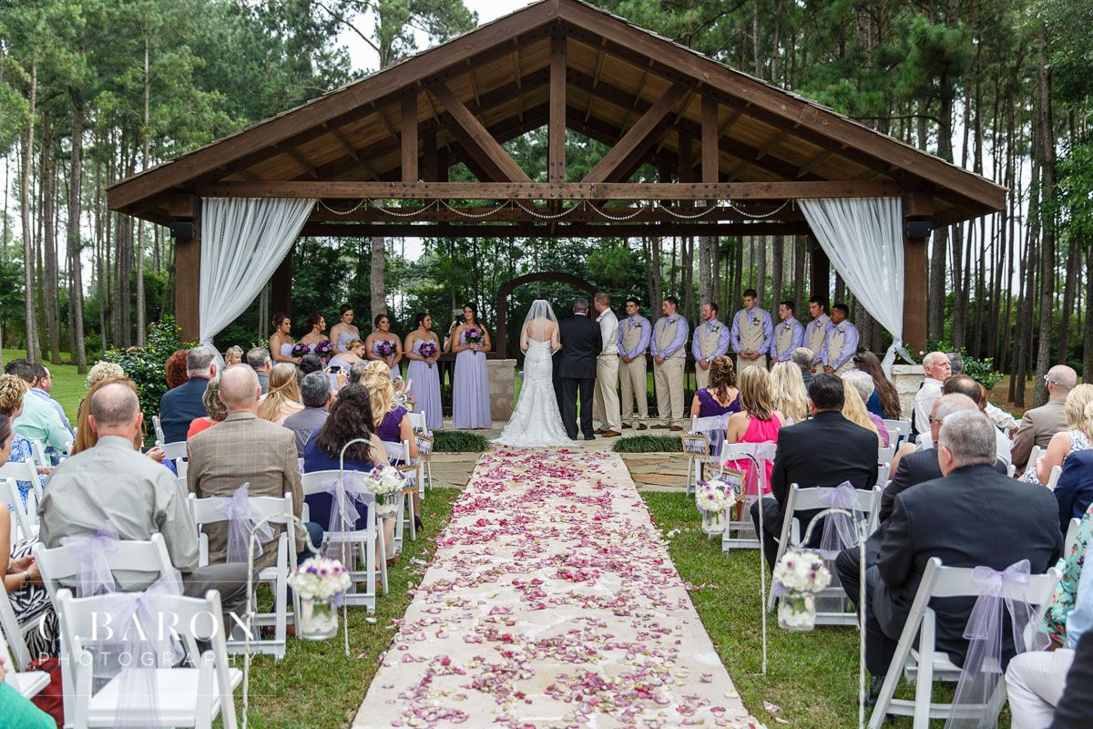 Gorgeous Outdoor Ceremony Site At The Springs Event Venue In
