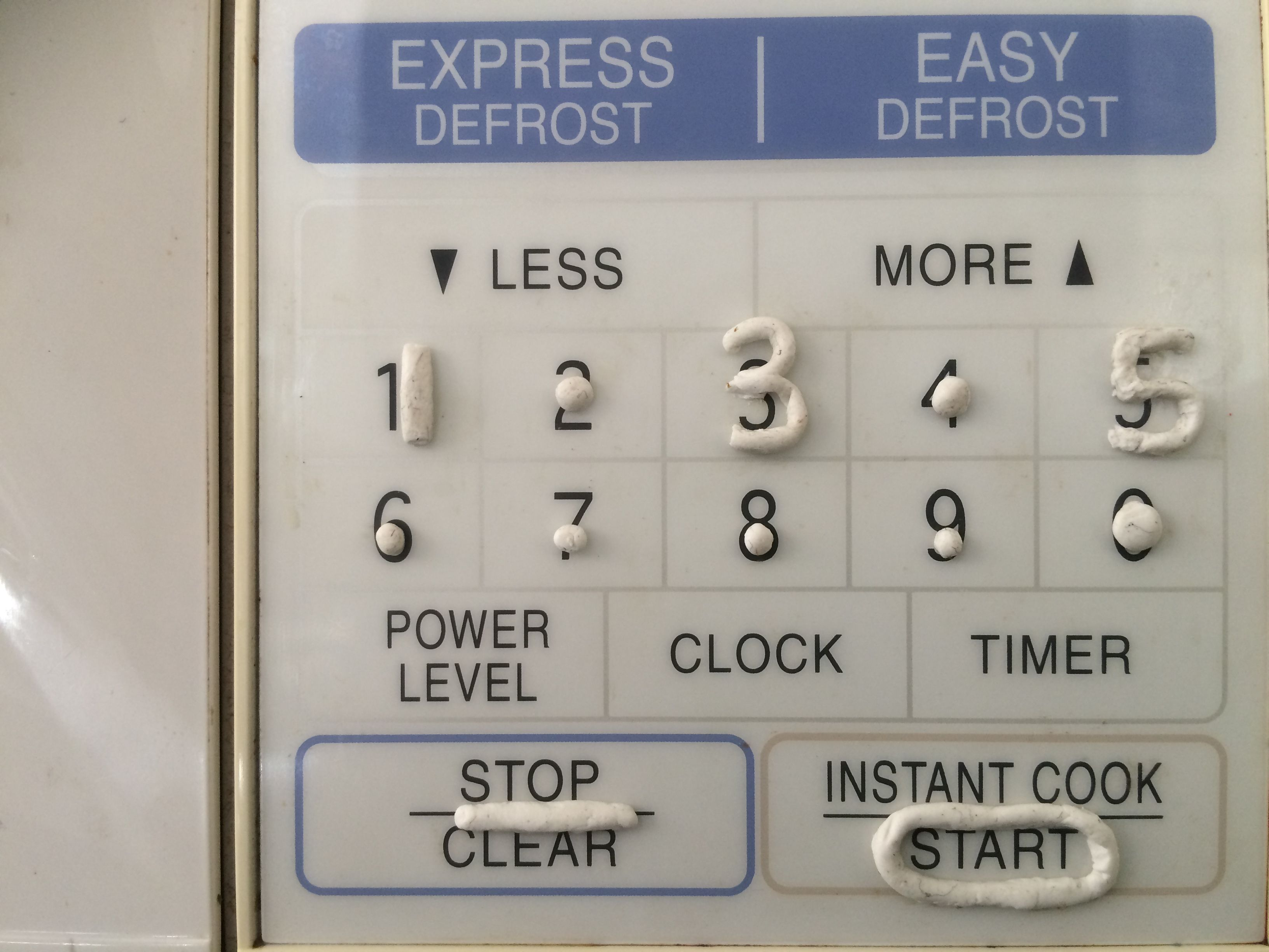 Improving Microwave Accessibility For Blind People Great Fix Using Sugru It Has Given Me