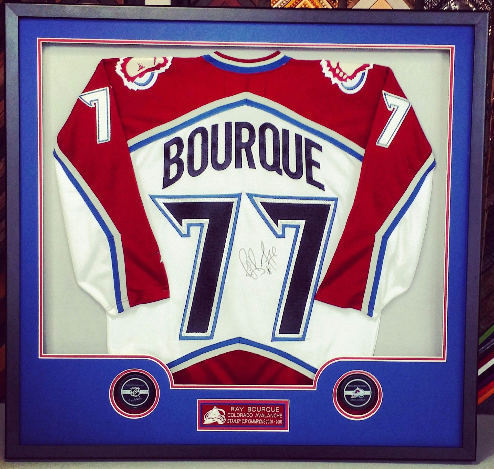 best service fc66f 2503b We think this Ray Bourque #Avalanche jersey looks awesome ...