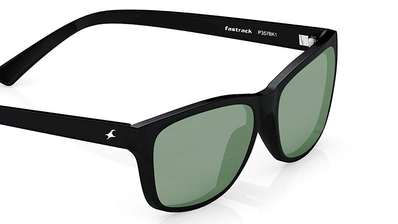 Fastrack UV protected Square Men's Sunglasses (P357BK141