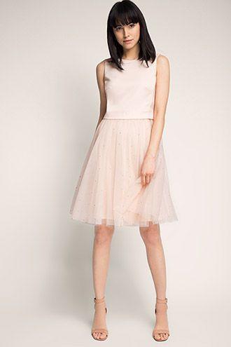 Esprit / Kleid mit Tüllrock und Strass | sewing | Pinterest | Kleid ...
