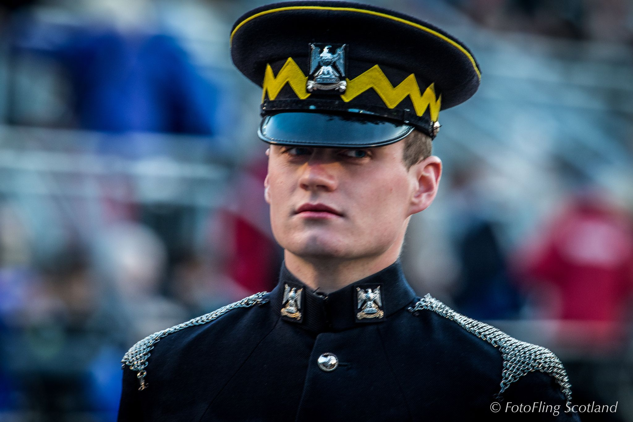 https://flic.kr/p/xodx6N   Royal Scots Dragoon Guard   The 2015 Royal Edinburgh Military Tattoo - the annual event combining military spectacle, cultural performance vibrant music and international colour,  set on the esplanade of Edinburgh Castle.