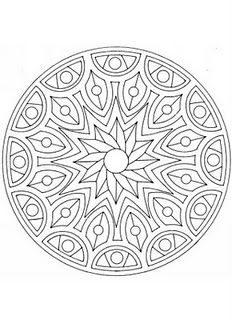 Image Detail For Dont Eat The Paste Mandalas Coloring Pages