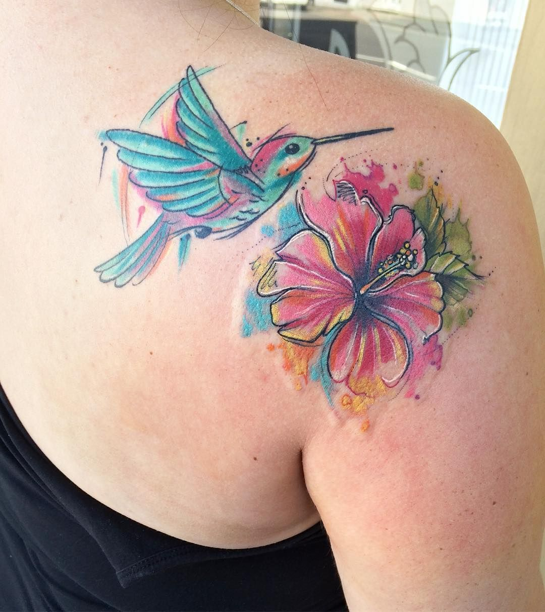 Pin by Christina Puente on Pretty tattoos Hibiscus