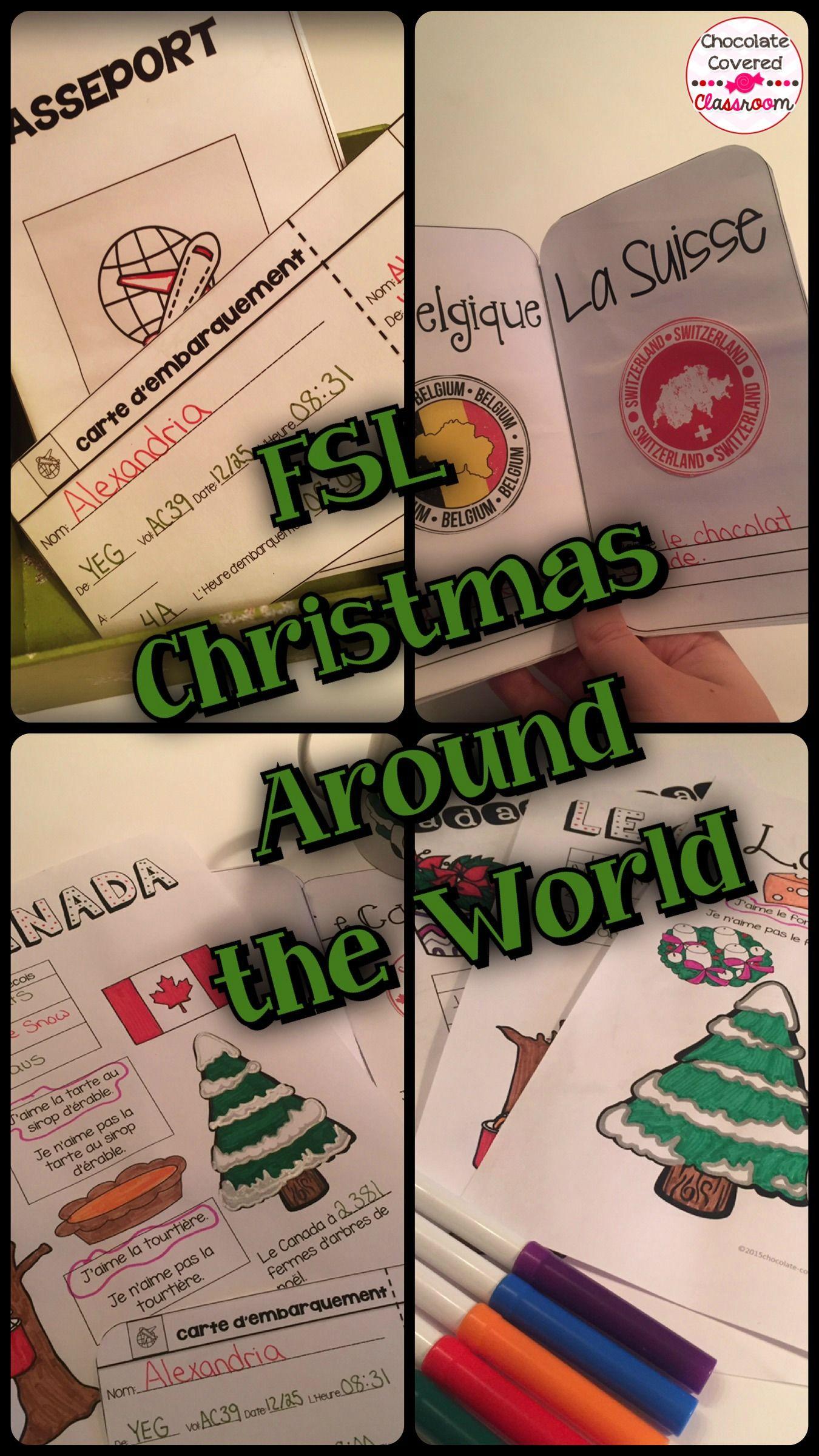 French Christmas Around The World Noel Autour Du Monde