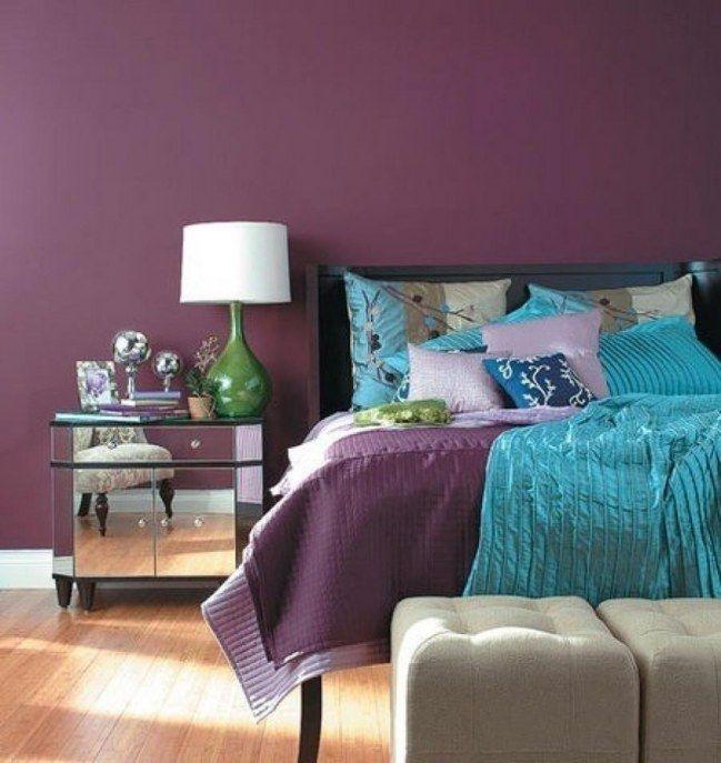 Dormitorios Con Acentos En Morado P�rpura Y Lila: La Psicología Del Color, ¿cómo Aplicarla En La Decoración