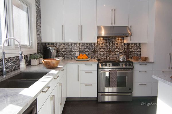 Kitchen Tiles Moroccan create a decorative kitchen backsplash with cement tiles | kitchen