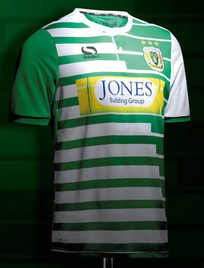 e16ca430b Yeovil Town 17-18 Home   Away Kits Released - Footy Headlines ...