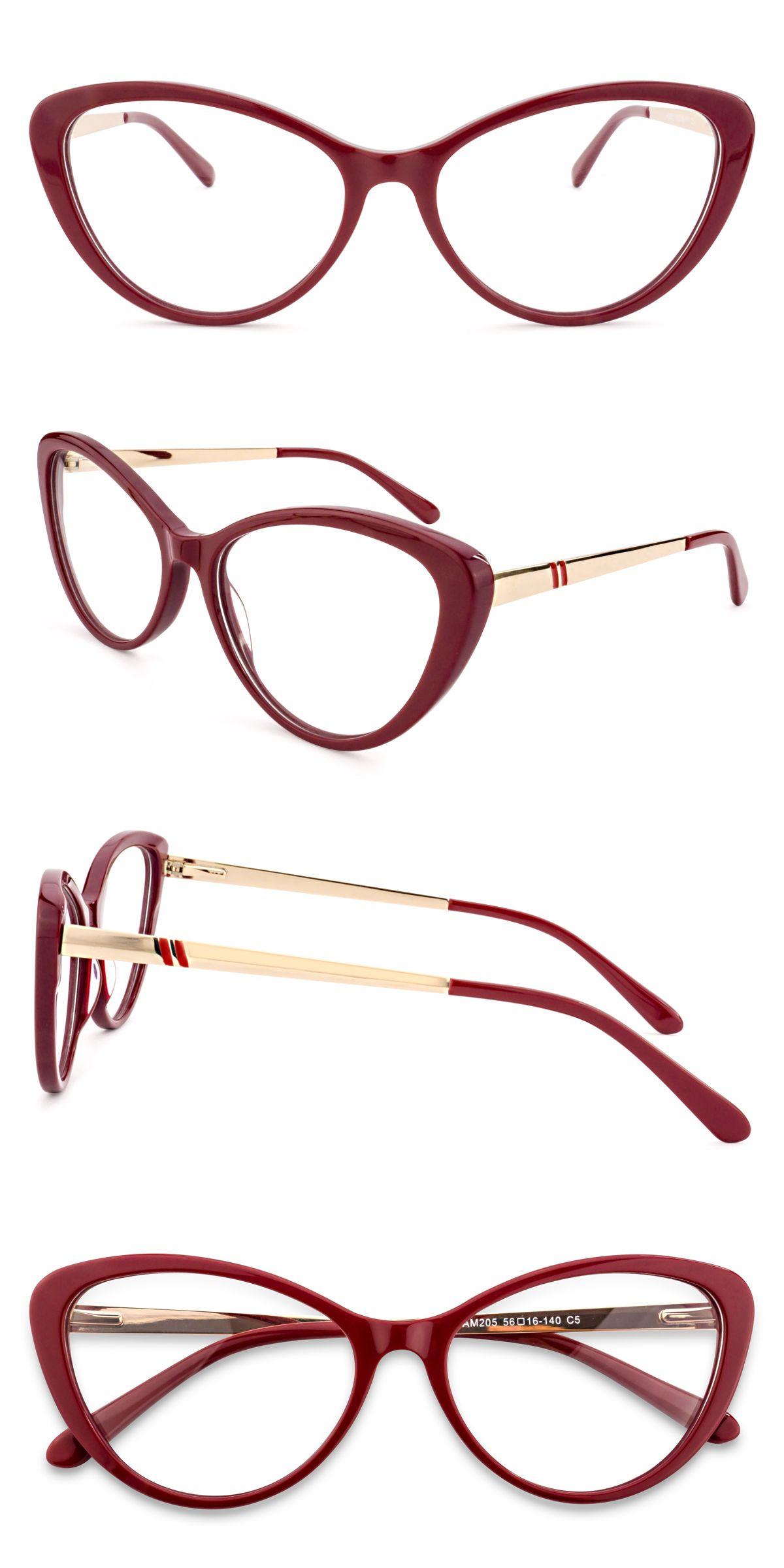Am 205 Dark Red Em 2020 Armacoes De Oculos Oculos De Grau E