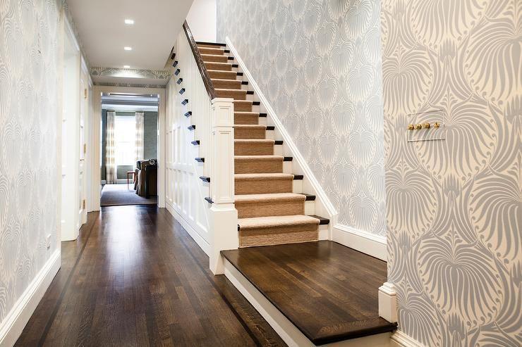 Trend Alert Farrow Balls Lotus Wallpaper Entryway Paint Vibe