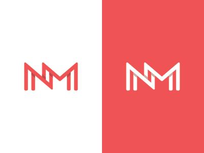 N M Monogram By Nikola Matosevic Personal Branding Personal Identity Project Logomarca Logotipo Letras